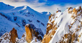 Faire du parapente au-dessus du mont blanc