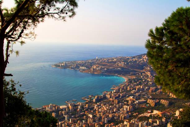 Vue en hauteur de la ville de Beyrouth
