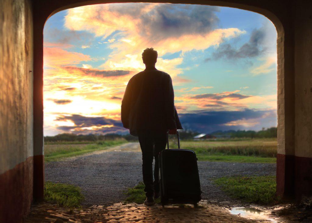Un départ en voyage